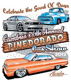 Best Auto Art Images On Pinterest In Cars Vehicles And - Car show t shirt design ideas