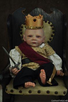 Prince Vampire Baby Reborn Doll