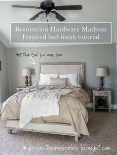 Bedroom Collections | Restoration Hardware - our bed | Bedroom ...