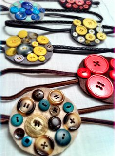 42 Fun Crafts to Make with Buttons and Sequins