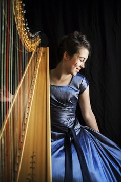 Harpist for The King Hailey Smith