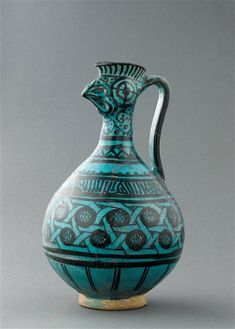 Aiguière à tête de coq, Iran, 13e siècle