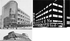 Schocken Department Store in Stuttgart, Germany 1926-1928