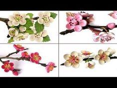 . Dieses VIDEO ist auch in DEUTSCH zu sehen: https://www.youtube.com/watch?v=ctjH2iQXcfI My Video Bridgit's Quilling Pear, Cherry, Plum- and Almond Blossoms ...