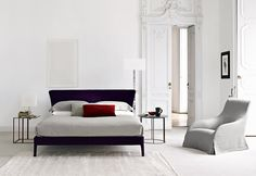 Bedroom featuring the FEBO BED Designed by Antonio Citterio
