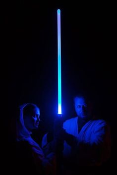 Star Wars cosplay (Princess Leia & Jedi).  Fantasy Under the Stars Event.  Costumes by Rebel Princess Cosplay & Costuming.  Image by Erik Magnuson. 2013