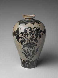 Maebyeong con la decoración de loto   Corea   dinastía Koryo (918-1392)   el Met