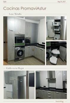 Esta vez comparto con vosotros una cocina realizada en el nuevo LUXE METALLO de alto brillo. La encimera es un granito. NEGRO ZIMBABWE