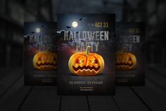 This is a collection of best halloween invitation template psd and EPS format for creating a best hallowen invitation card. Easy editable and customizable template. Halloween Party Flyer, Halloween Poster, Halloween Design, Halloween Invitation Template, Halloween Party Invitations, Flyer Layout, Pumpkin Faces, Print Templates, Design Templates