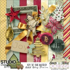 Over The Fence Designs: Christmas Carol Blog Train*