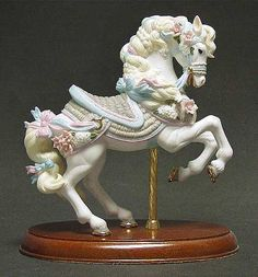 Lenox China Carousel Horse - one person's unneeded tchotchke is another's GREAT FIND! at the Kauai Humane Society Thrift Store. Decor and collectibles from names like Lenox, Avon, and Fiestaware are just some of the recent items from our generous donors!