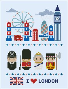 London icons Mini people around the world PDF di cloudsfactory