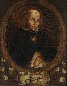 Santo Tomás de Aquino (Tít. ant.: Retrato de Santo Domingo - Retrato de un monje dominico)