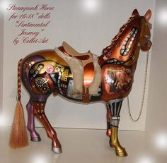 Might have to reclaim that barbie horse from the kiddie