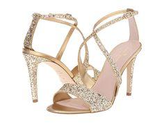 9d9cfb0c332e Kate Spade New York Felicity (Gold Glitter Old Gold Metallic Nappa) High  Heels