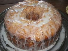 7 Flavor Pound Cake great for the holidays!