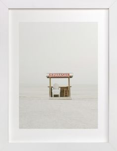 The Beach by Baumbirdy at minted.com