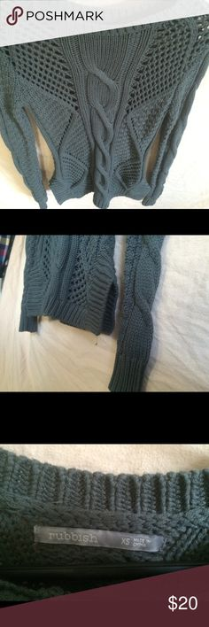 Loose knit Nordstrom sweater Loose knit with small slits grey sweater. Never worn. Rubbish Sweaters
