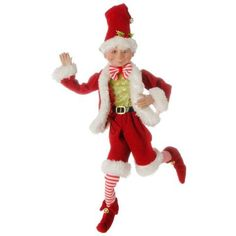 Browse our RAZ Posable Elf in Short Pant Santa Suit Striped Legs, as well as other RAZ Christmas & Halloween Decor RAZ Elves, Figurines at Trendy Tree. Christmas Elf, White Christmas, Christmas Wreaths, Christmas Ornaments, Christmas Bingo, Magical Christmas, Christmas Costumes, Christmas Jewelry, Christmas 2019