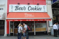 Ben's cookies - London. Wonderful chocolate chunk cookies!