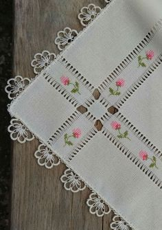 Cross Stitch and Hardanger Hardanger Embroidery, Hand Embroidery Stitches, Ribbon Embroidery, Cross Stitch Embroidery, Embroidery Designs, Cross Stitch Designs, Cross Stitch Patterns, Drawn Thread, Smocking
