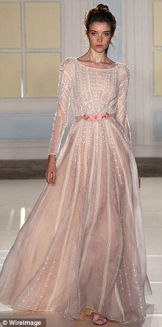 Alice Temperley 2014 show-stopper: A silk and organza ballgown