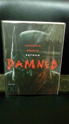 Batman Damned #1-3 Complete Comic Set,1st prints,Uncensored,DC Black Label,NM #Colour