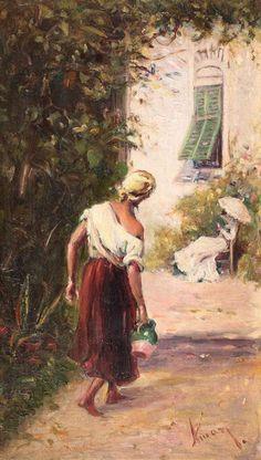 Theodor Aman - De la fântână