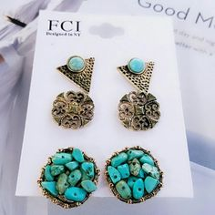 Gorgeous Fashion Earrings Brand  New Jewelry Earrings