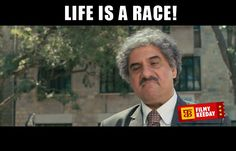 Life is a race Life quotes 3 Idiots Dialogues We are sharing Funny 3 Idiots Dialogues Meme Bollywood Dialogues Meme By Filmy Keeday