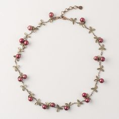 Michael Michaud Jewelry - Cranberry Necklace