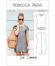 Rebecca Page - PDF Sewing Patterns for ladies, children and dolls Cocoon Dress, Blouse Dress, Tie Neck Blouse, Bias Tape, Dress Sewing Patterns, Lining Fabric, Gorgeous Women, A Team, Clothes