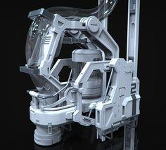 HardSurface01 by Jose Manuel Linares Lopez | Sci-Fi | 3D | CGSociety