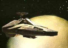 Blakes 7 - Scorpio Fantasy Tv Shows, Sci Fi Tv Series, Alien Ship, Episodes Series, Sci Fi Spaceships, Sci Fi Shows, Star Wars, Classic Sci Fi, Science Fiction