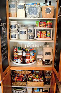 4 simple pantry organization tips - Kitchen Pantry Organization Ideas