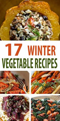 17 Healthy Winter Vegetable Recipes