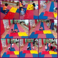 Sorting Colors activity @ Oi Playschool HSR layout