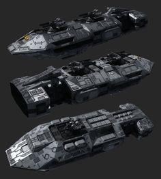 Pike gunship WIP part2 by NovA29R