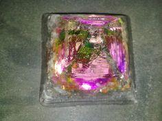Pirâmide Orgonite Multicolor