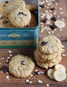 burczymiwbrzuchu: Tydzień z LunchBoxem #6: Owsiane ciasteczka z bananami i czekoladą