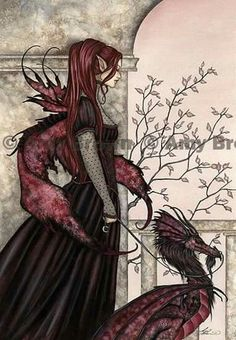 """""""A Faery and Her Pet"""" by Amy Brown"""