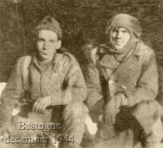 Hank Zimmerman and Popeye Wynn in Bastogne