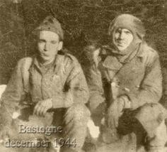 Hank Zimmerman and Popeye Wynn in Bastogne