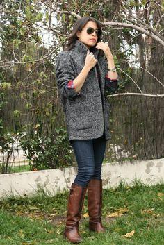 Time for Fashion » Outfit post: Abrigo oversize – Oversize coat