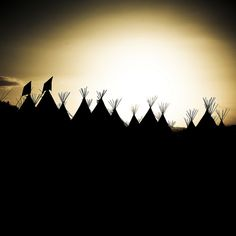 Tipi Field, via Flickr.