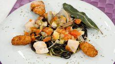 Saber cocinar - Spaguetti a la marinera picantes