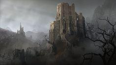 Deadlands 2, Marco Gorlei on ArtStation at https://www.artstation.com/artwork/3qPND