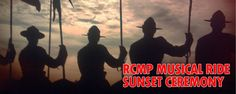 RCMP Musical Ride - Sunset Ceremonies