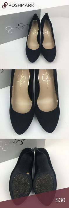 BEAUTIFUL BLACK PUMPS IN EXCELLENT CONDITION! 😍 These are beautiful shoes worn ONE TIme!! Jessica Simpson Shoes Heels