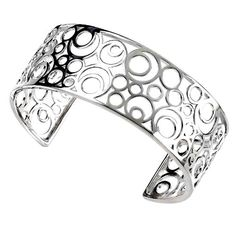 Silver Circles Cuff Bangle - Sterling Silver Cuff - Treats - Gifts for Her - Beautiful Bracelet - Sterling Silver Bracelet Treat Gifts http://www.amazon.co.uk/dp/B002T4E0QK/ref=cm_sw_r_pi_dp_xmGUvb0TD31KS